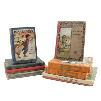 "First Edition ""The Dog Book"" with Additional Children's Books"