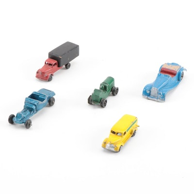 Toosie and Midge Toy Diecast Cars and Trucks, Vintage