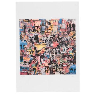 "Tehos Frederic Camilleri Giclée Print ""Rolling Stones"""