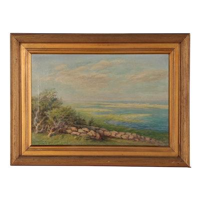 Frederick Clark Landscape Oil Painting