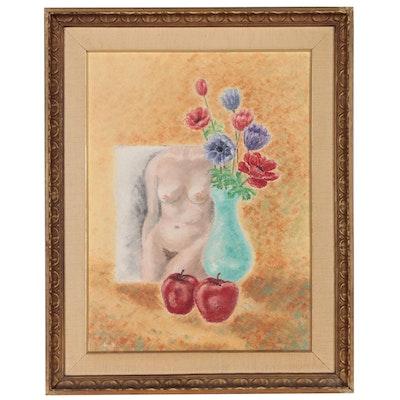 Still Life Oil Painting, 1974