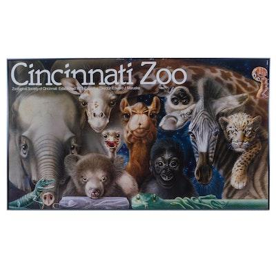 "Cincinnati Zoo ""Zoo Babies"" Poster after Lou Specker, circa 1983"