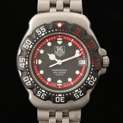 TAG Heuer Formula One Stainless Steel Quartz Wristwatch