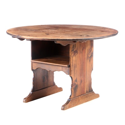 Habersham Plantation, Pine Hutch Table