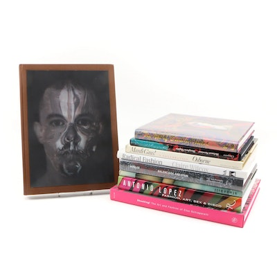 Couture Designers and Fashion Photographers Book Collection, Nine Volumes