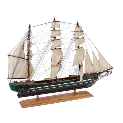 """The President"" Model Ship of Frigate Year 1800"