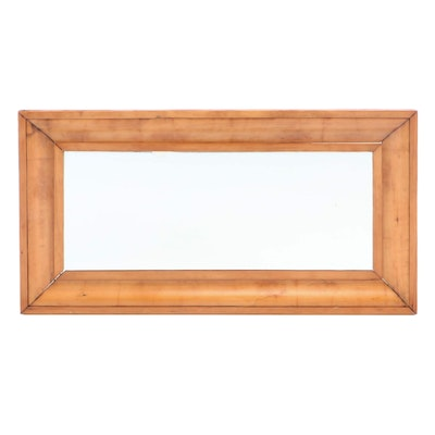 Empire Pine Ogee Framed Mirror, Mid 19th Century