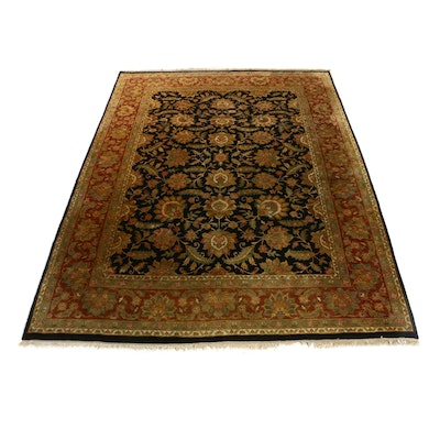 10.3' x 13.2' Hand-Knotted Indo-Persian Room Sized Rug