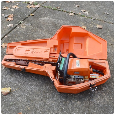 STIHL 029 Super Gas Chainsaw and Case