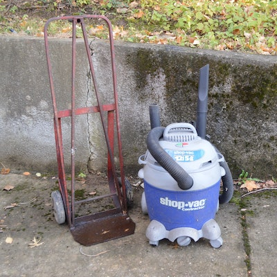 Shopvac Contractor Series Wet/Dry Vacuum LM500 and Hand Truck