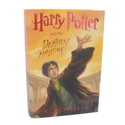 "J.K Rowling First Edition ""Harry Potter and the Deathly Hallows"""