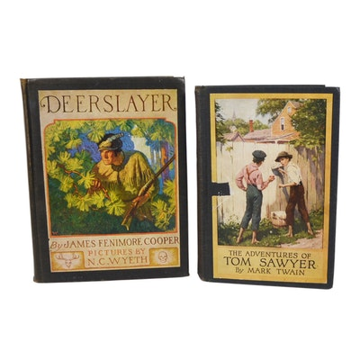 """The Adventures of Tom Sawyer"" by Mark Twain and ""The Deerslayer"""