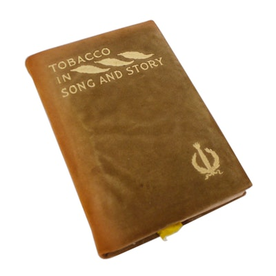 """Tobacco in Song and Story"" by John Bain Jr. with Dental Snuff Notebook"