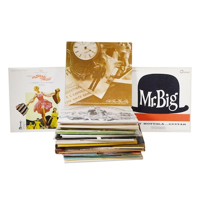 """Bing Crosby """"Dancing and Reminiscing"""" and Other Vinyl Records"""
