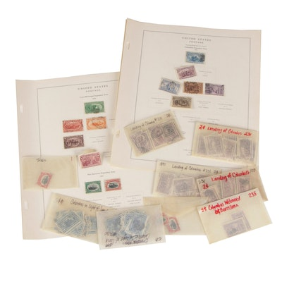 United States Postage Stamps, Colombian and Trans-Mississippi Expositions