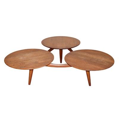 Mid Century Modern Greta Grossman Style Coffee Table, Mid 20th C.