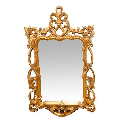 Rococo Revival Style Gilt Wall Mirror
