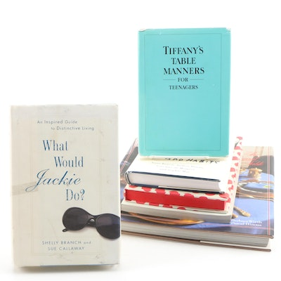 """What Would Jackie Do?"" and Other Etiquette and Social Custom Books"
