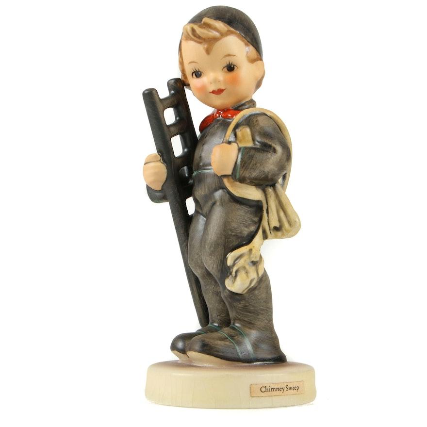 """Hummel """"Chimney Sweep"""" Porcelain Figurine, 1972–1979"""