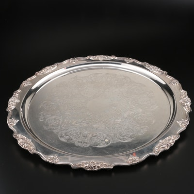 Wallace Silver Plate Serving Tray