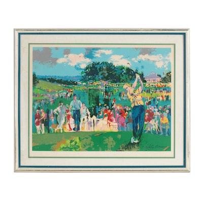 "LeRoy Neiman Serigraph ""Augusta Golf"", 1990"