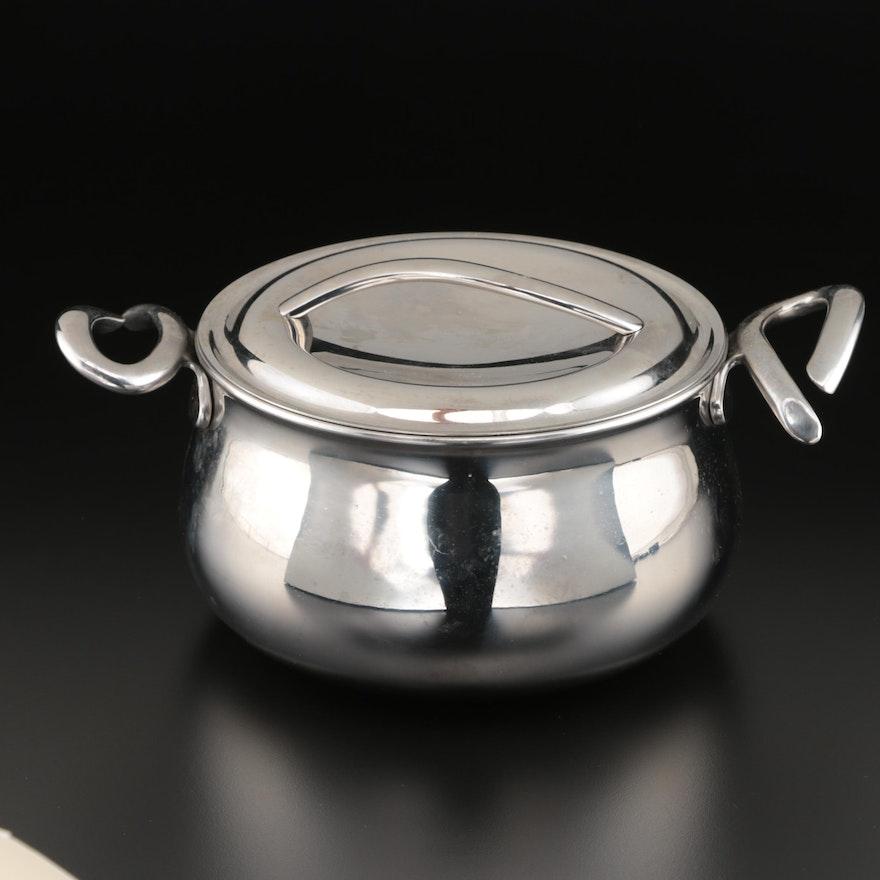 """Nambé """"Gourmet"""" Stainless Steel 3 Quart Sauce Pan"""