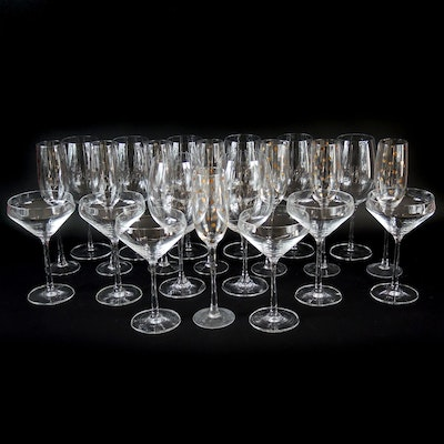 Robert Mondavi Waterford Wine Glasses, Luigi Bormioli and Other Stemware