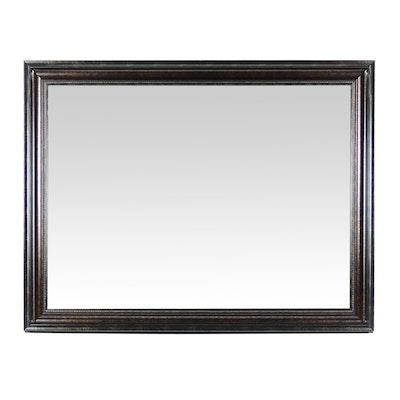 Rectangular Wooden Wall Mirror
