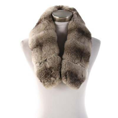 Chinchilla Fur Collar