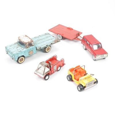 Tonka, Buddy-L, Hubley and NY-Lint Diecast Toy Vehicles
