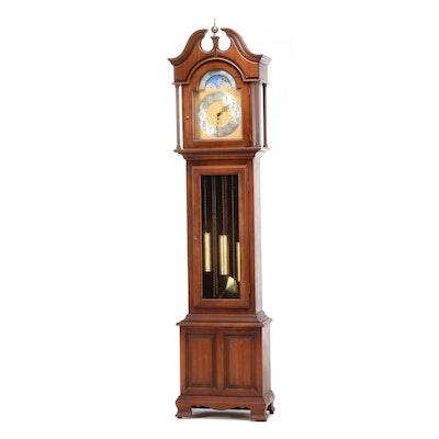 Ridgeway, Chippendale Style Cherry Tall Case Clock