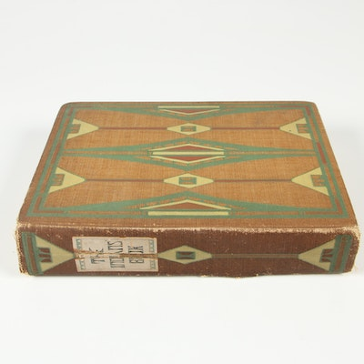 """Illustrated First Edition """"The Indians' Book"""" by Natalie Curtis, 1907"""