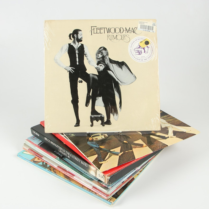 The Beatles, Fleetwood Mac, Bruce Springsteen and More 33 1/3 RPM Records