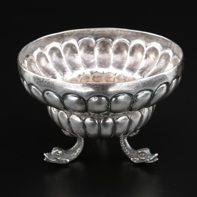 Alfred Ortega & Sons Sterling Silver Small Bowl with Dolphin Feet