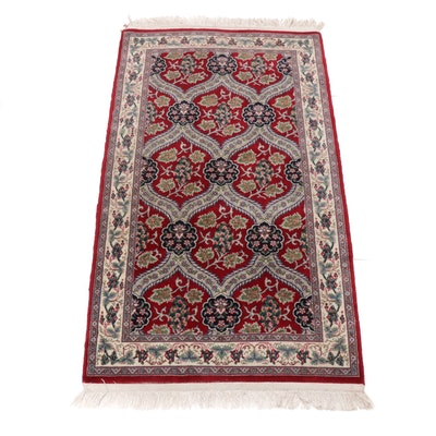 2'7 x 5' Hand-Knotted Persian Accent Rug