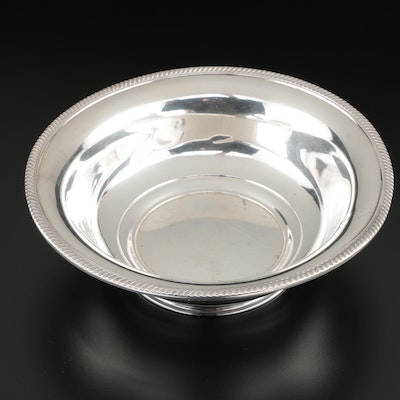 M. Fred Hirsch Co. Sterling Silver Serving Bowl, 1920–1945