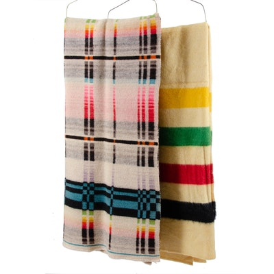 Striped Wool Blankets Including Wool of the West