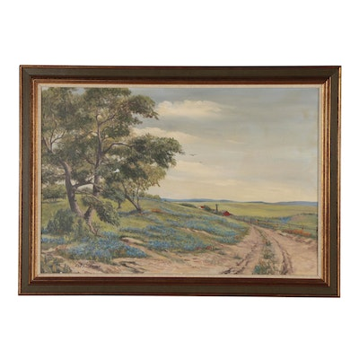 Phil J. Metzger Landscape Oil Painting