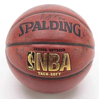 2008-09 New York Knicks Signed Spalding NBA Basketball