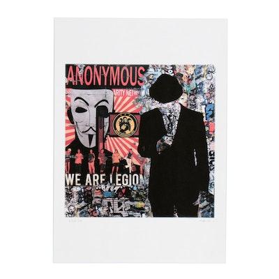 """Tehos Frederic Camilleri Pop Art Giclée """"We are the Legion"""""""