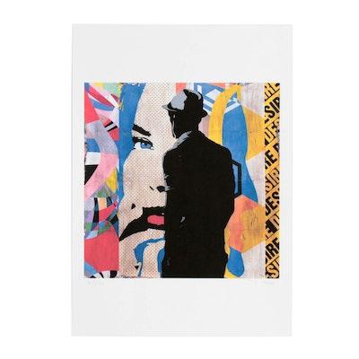 "Tehos Frederic Camilleri Pop Art Giclée ""9 PM Metting"""