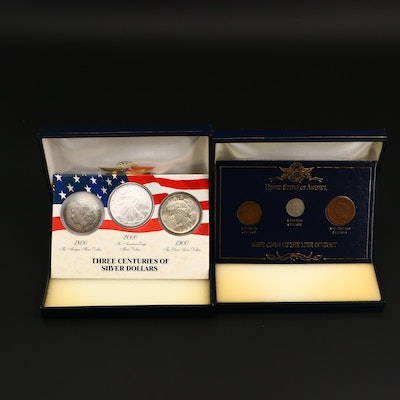 """Three Centuries of Silver Dollars"" and ""Rare Coins of the 19th Century"" Sets"
