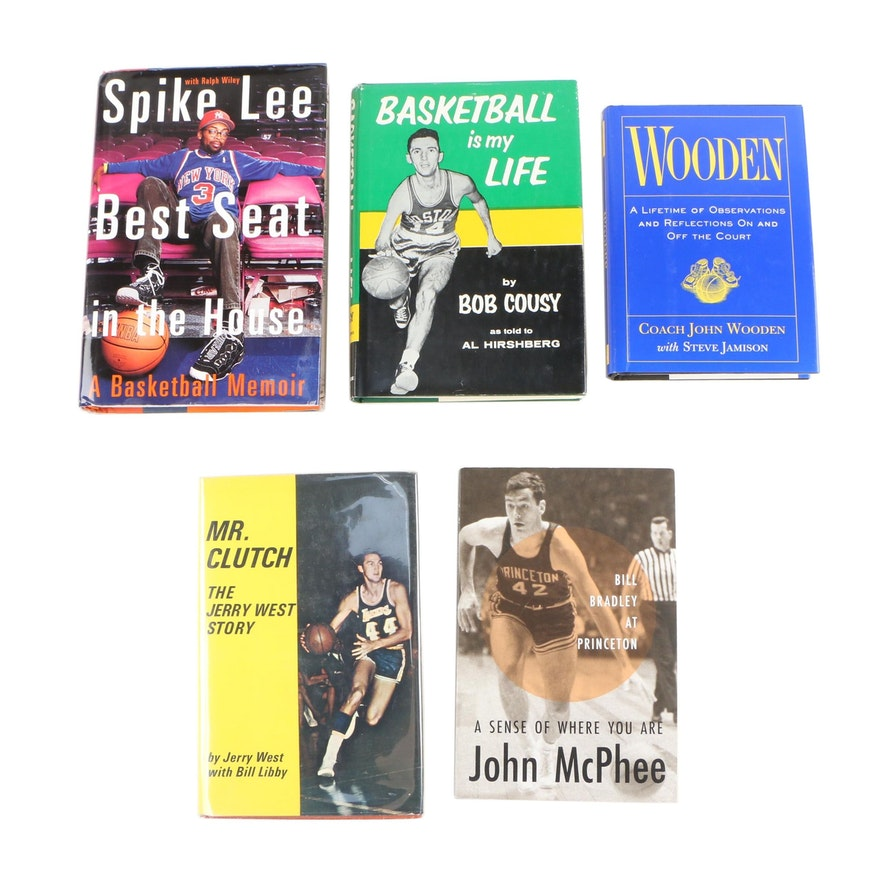 """Basketball Is My Life"" with Other Basketball Books including First Editions"