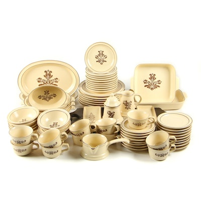 "Pfaltzgraff ""Village"" Stoneware Dinner, 7 Place Settings, 67 Pieces"