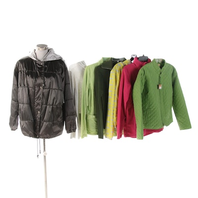 Avalanche, Charlie Jade, Cyrus and Other Casual and Active Outerwear