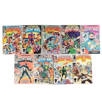 """""""Marvel Super Heroes Secret Wars"""" Including Part Eight, """"Invasion!"""", 1984"""
