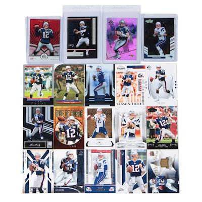 Tom Brady New England Patriots Football Cards