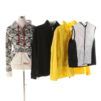 Roxy, Hanes, Red Hearts and Treehearts Active and Casual Outerwear