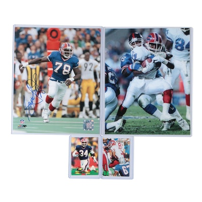 Bruce Smith Signed Photo Print Thurman Thomas Photo Print and Cards