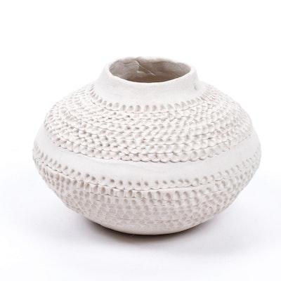 Norma Jean Ortiz Acoma Pottery Vase